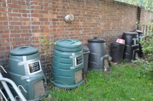 Composters at Approach Gardens