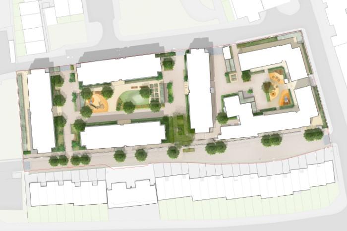 Peabody Estate greening plans
