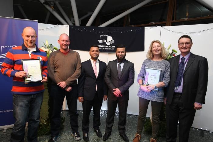Tower Hamlets in Bloom wildlife garden winners 2014