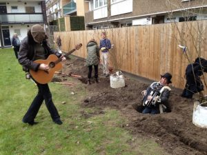 Musicians at Cable Gardens