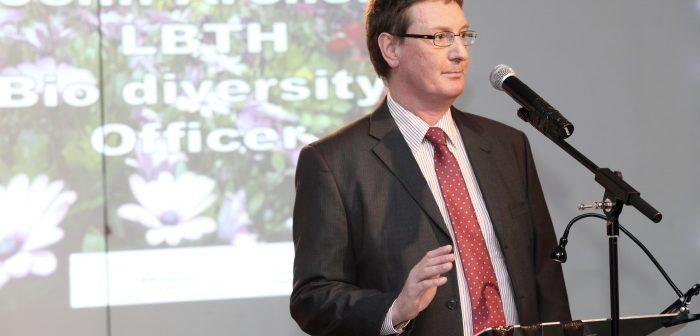 John Archer, Tower Hamlets Biodiversity Officer