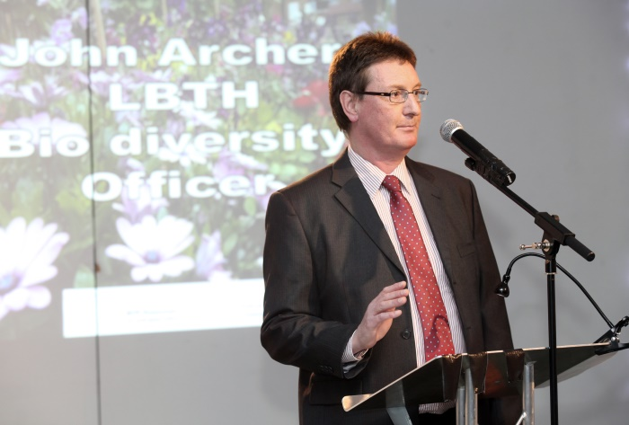 John Archer, Tower Hamlets Biodiversity Officer
