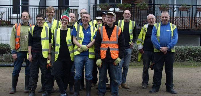 Lower Regents Coalition volunteers