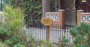 Manchester Estate butterfly border