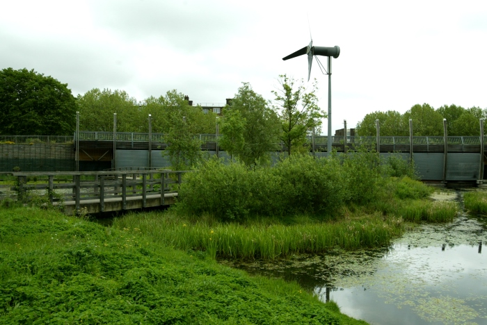Windmill in Mile End Park