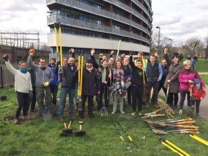 Volunteers at Meath Gardens