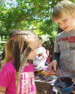 Children at Forest School
