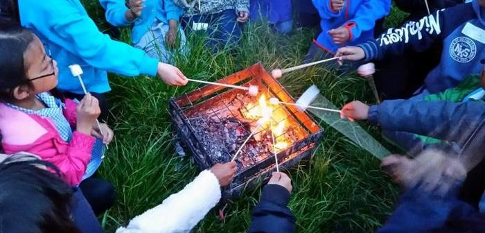 Forest School barbecue
