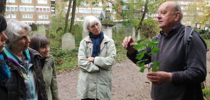 Terry Lyle teaching botany