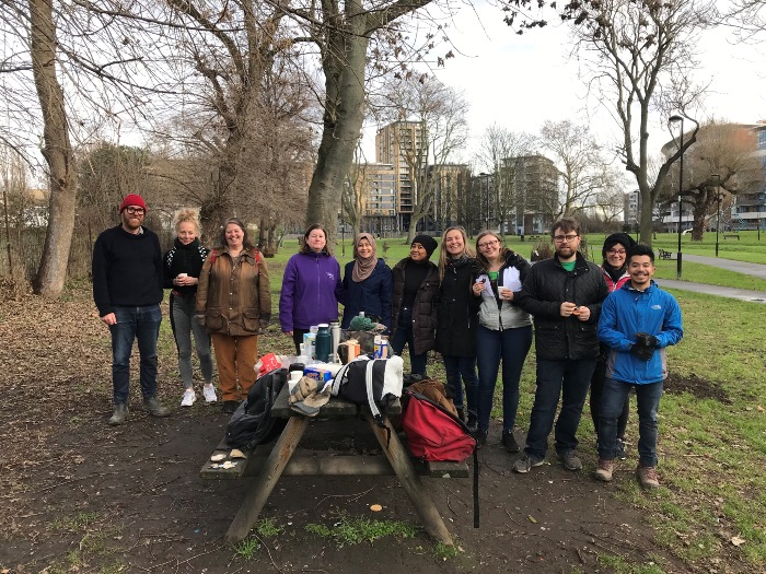 Volunteers at Meath Gardens