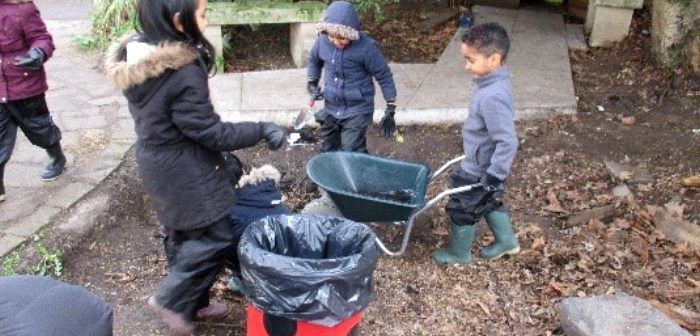 Children at Forest School