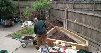 Building raised planting beds