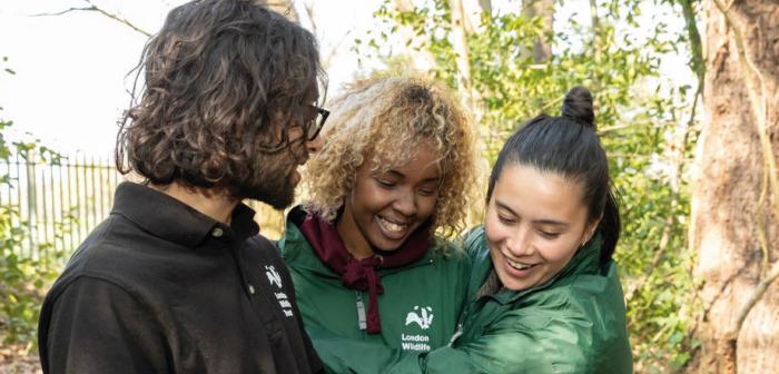 London Wildlife Trust Trainees